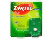 Zyrtec 24 Hour Indoor-Outdoor Allergy Relief 10mg- 5 Tablets