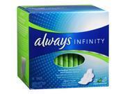 Always Infinity Maxi Pads Heavy Flow - 16 ct