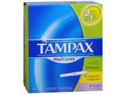 Tampax Flushable Multipack Tampons - 40 ea