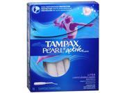 Tampax Pearl Tampons Light Unscented - 18 ct
