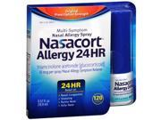 Nasacort Allergy 24 Hr Multi-Symptom Nasal Allergy Spray - 120 Sprays