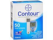 Contour Blood Glucose Test Strips - 50 ct