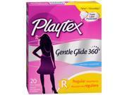 Playtex Gentle Glide Tampons Unscented Regular Absorbency - 18 ea