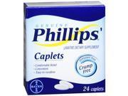 Phillips cramp-free laxative, caplets 24 ea