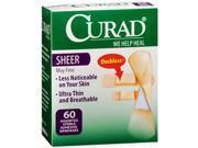 Curad Sheer Bandages - 60 ct