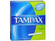 Tampax Tampons Super - 20 ct