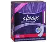 Always DriLiners Pantiliners Extra Long Unscented Size 14+ - 68 ct