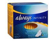 Always Infinity Maxi Pads Regular Flow - 18 ct