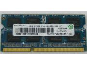 Ramaxel 2GB DDR3 1333 PC3-10600S Laptop Memory RAM