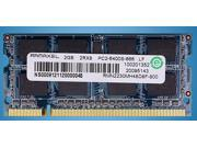 Ramaxel 2GB DDR2 800 PC2-6400S Laptop Memory