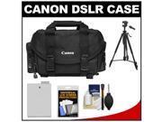 Canon 2400 Digital SLR Camera Case - Gadget Bag with LP-E8 Battery + Tripod + Accessory Kit
