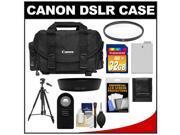 Canon 2400 Digital SLR Camera Case - Gadget Bag with 32GB Card + LP-E8 Battery + Lens Hood + Remote + Filter + Tripod + Accessory Kit