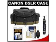 Canon 10EG Deluxe Digital SLR Camera Case - Gadget Bag with Cleaning Kit + LCD Protectors