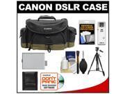 Canon 10EG Deluxe Digital SLR Camera Case - Gadget Bag with LP-E5 Battery + Tripod + Accessory Kit