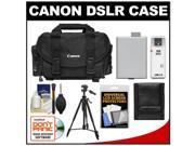Canon 2400 Digital SLR Camera Case - Gadget Bag with LP-E5 Battery + Tripod + Accessory Kit