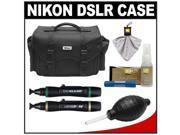 Nikon 5874 Digital SLR Camera Case - Gadget Bag with Complete Nikon Cleaning Kit