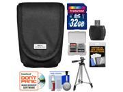 Nikon Coolpix 5879 Digital Camera Case with 32GB Card + Tripod + Reader + Accessory Kit
