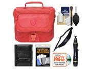 Tenba Vector 3 Digital SLR Camera Bag (Cadmium Red) with Sling Strap + Cleaning & Accessory Kit