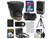 Canon Zoom Pack 1000 Digital SLR Camera Holster Case w/ 32GB Card + LP-E8 Battery & Charger + Filters + Tripod + Remote + Hood + Accessory Kit