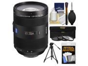 Sony Alpha A-Mount 24-70mm f/2.8 ZA SSM Zoom Lens with Tripod + 3 UV/CPL/ND8 Filters + Accessory Kit
