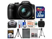 Panasonic Lumix DMC-LZ40 Digital Camera with 32GB Card + Case + Battery + Tripods + Kit