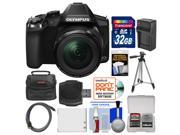 Olympus Stylus SP-100 Digital Camera with 32GB Card + Case + Battery/Charger + Tripod + Kit
