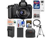 Olympus Stylus 1 Digital Camera with 28-300mm f/2.8 Lens (Black) with 32GB Card + Battery & Charger + Case + Tripod + Accessory Kit