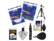 Hoya 67mm NXT (HMC UV + Circular Polarizer) Multi-Coated Glass Filters with Tripod + Filter Case + Accessory Kit