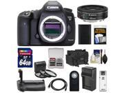 Canon EOS 5D Mark III Digital SLR Camera Body with 40mm f/2.8 STM Lens + 64GB Card + Grip + Battery & Charger + Case + Filters Kit