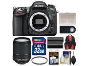 Nikon D7100 Digital SLR Camera Body with 18-140mm VR Lens + 32GB Card + Backpack + Battery + Filter + Remote + Accessory Kit