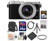 Panasonic Lumix DMC-GM1 Micro Four Thirds Digital Camera & 12-32mm Lens with 64GB Card + Battery + Case + Filter + Flex Tripod Kit