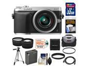 Panasonic Lumix DMC-GX7 Micro Four Thirds Digital Camera with 14-42mm II Lens with 32GB Card + Battery + Case + Filter + Tripod + Tele/Wide Lenses + Accessory Kit