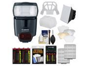 Canon Speedlite 430EX II Flash with Soft Box + Diffuser + Batteries & Charger + Kit