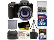 Kodak PixPro AZ521 Astro Zoom Digital Camera with 32GB Card + Battery + Case + Accessory Kit