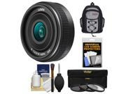 Panasonic Lumix G 14mm f/2.5 II Lens with Case + 3 UV/CPL/ND8 Filters + Accessory Kit