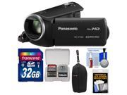 Panasonic HC-V160 HD Wi-Fi Video Camera Camcorder with 32GB Card + Case + Accessory Kit
