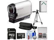 Sony Action Cam HDR-AS200V Wi-Fi HD Video Camera Camcorder with 32GB Card + Battery + Case + Tripod + Kit