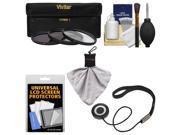 Essentials Bundle for Nikon 24-85mm f/3.5-4.5G VR ED AF-S Nikkor-Zoom Lens with 3 (UV/CPL/ND8) Filters + Hood + Accessory Kit