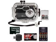 Intova Sport 10K Waterproof Digital Camera with 140' Underwater Housing with 16GB Card + Batteries & Charger + Accessory Kit