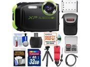 Fujifilm FinePix XP80 Shock & Waterproof Wi-Fi Digital Camera (Graphite Black) with 32GB Card + Battery + Case + Tripod + Strap + HDMI Cable + Kit