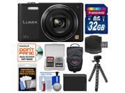 Panasonic Lumix DMC-SZ10 Wi-Fi Digital Camera with 32GB Card + Case + Battery + Flex Tripod + Kit