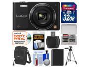 Panasonic Lumix DMC-SZ10 Wi-Fi Digital Camera with 32GB Card + Case + Battery + Tripod + Kit