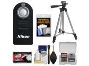 Nikon ML-L3 Wireless Infrared Shutter Release Remote Control for Nikon 1 V3, V2, V1, J1, J2 with Tripod + Accessory Kit