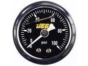 JEGS Performance Products 41013 Fuel Pressure Gauge