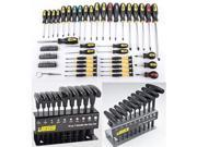 JEGS Performance Products 80755K1 Ultimate Screwdriver & Hex Key Kit