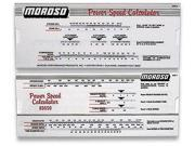 Moroso Performance Power Speed Calculator