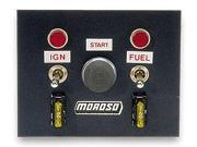 """Moroso 74130 4"""" x 5"""" Oval Track Switch Panel"""
