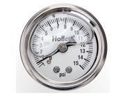 Holley Performance Mechanical Fuel Pressure Gauge