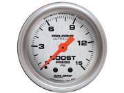 Auto Meter 4302 Ultra-Lite Boost Gauge