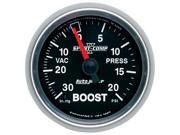 Auto Meter Sport-Comp II Mechanical Boost/Vacuum Gauge